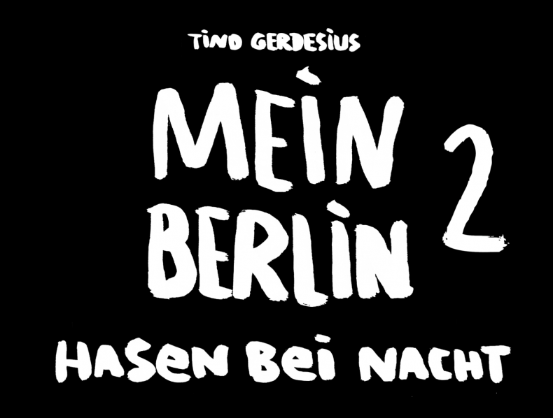 Another bunny book: Mein Berlin Hasen bei Nacht 2